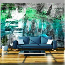 Fotótapéta - Berlin - collage (green)