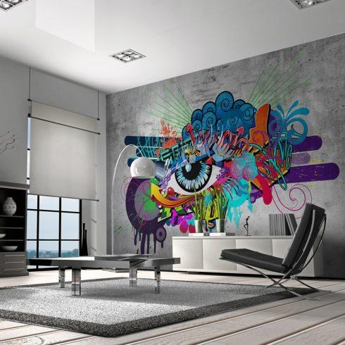 Fotótapéta - Graffiti eye  -  ajandekpont.hu