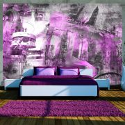 Fotótapéta - Berlin - collage (violet)  -  ajandekpont.hu