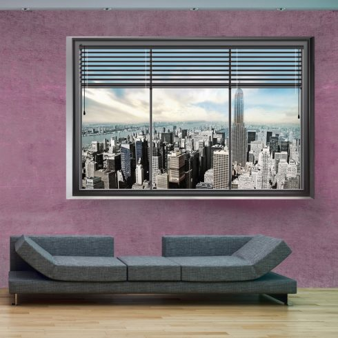 Fotótapéta - New York window II  -  ajandekpont.hu