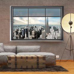Fotótapéta - New York window l  -  ajandekpont.hu