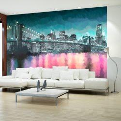 Fotótapéta - Painted New York  -  ajandekpont.hu
