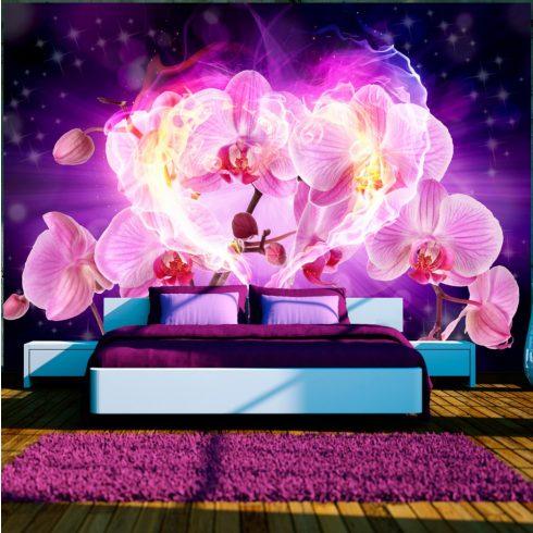 Fotótapéta  -  Orchids in flames - ajandekpont.hu