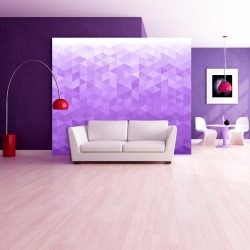 Fotótapéta - Violet pixel