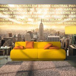 Fotótapéta - Neighborhoods of New York  -  ajandekpont.hu