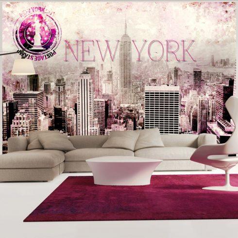 Fotótapéta - Pink New York - Ajándékpont.hu