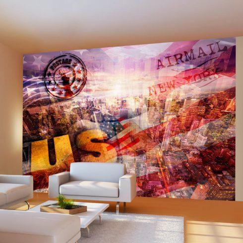 Fotótapéta - New York - patriotic theme  -  ajandekpont.hu