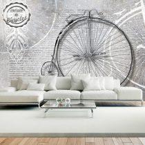 Fotótapéta - Vintage bicycles - black and white  -  ajandekpont.hu