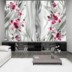 Fotótapéta - Pink orchid in platinum