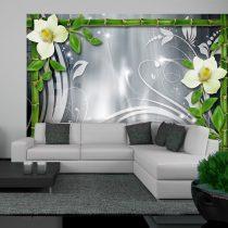 Fotótapéta  -  Bamboo and creamy orchids - ajandekpont.hu
