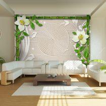 Fotótapéta  -  Bamboo, orchids and a zen garden - ajandekpont.hu