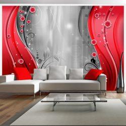 Fotótapéta - Behind the curtain of red