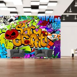 Fotótapéta - Scary graffiti