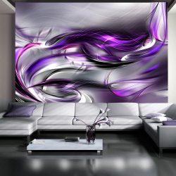 Fotótapéta - Purple Swirls