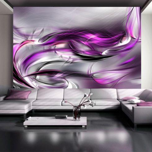 Fotótapéta - Pink swirls - ajandekpont.hu