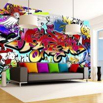 Fotótapéta - Street art:red theme