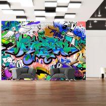 Fotótapéta  -  Graffiti: blue theme - ajandekpont.hu