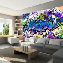 Fotótapéta - Graffiti: violet theme