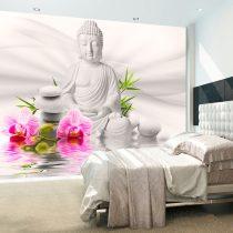 Fotótapéta - Buddha and Orchids  -  ajandekpont.hu