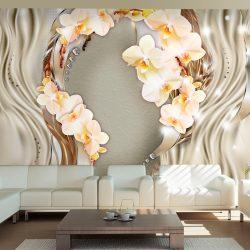 Fotótapéta - Wreath of orchids