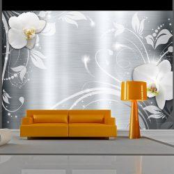 Fotótapéta - Orchids on steel