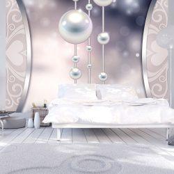 Fotótapéta - String of white pearls