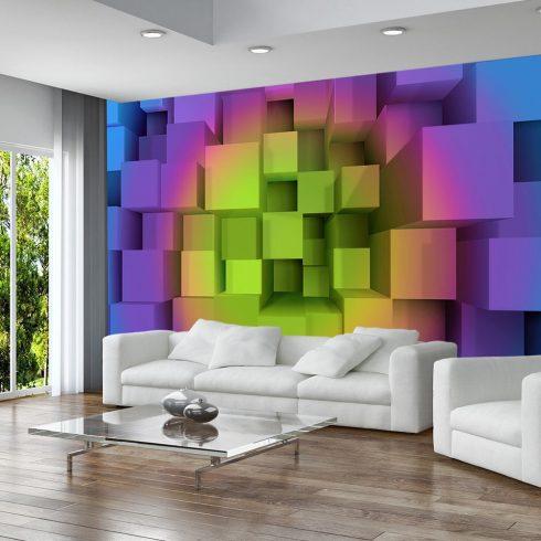 Fotótapéta  -  Rainbow puzzle - ajandekpont.hu