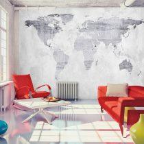 Fotótapéta - Concrete Map  7 féle méretben   -  ajandekpont.hu