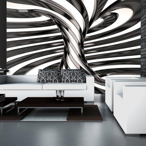 Fotótapéta - Black and white swirl  -  ajandekpont.hu