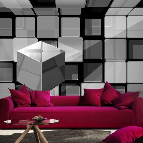 Fotótapéta  -  Rubik's cube in gray - ajandekpont.hu