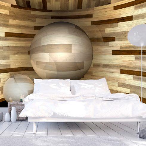 Fotótapéta  -  Wooden orbit - ajandekpont.hu