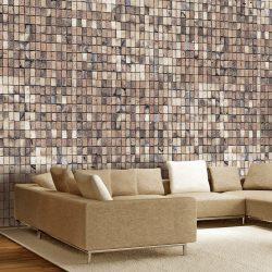 Fotótapéta - Brick mosaic