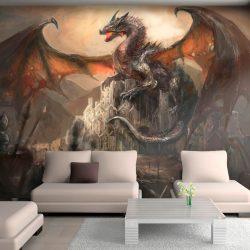 Fotótapéta - Dragon castle  7 féle méretben