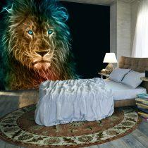 Fotótapéta - Abstract lion  7 féle méretben