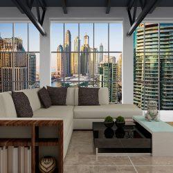 Fotótapéta - Dubai: skyscrapers