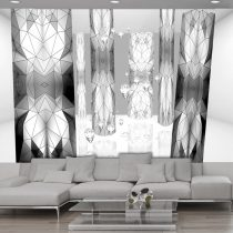 Fotótapéta - Graphite stained glass