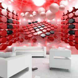 Fotótapéta - Playing in red and black