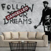 Fotótapéta - Dreams Cancelled (Banksy)  -  ajandekpont.hu