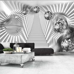 Fotótapéta - Silver Stairs