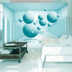 Fotótapéta - Blue Balls