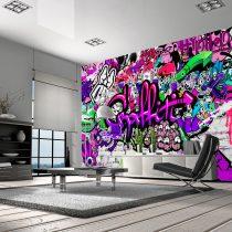 Fotótapéta -  Purple Graffiti