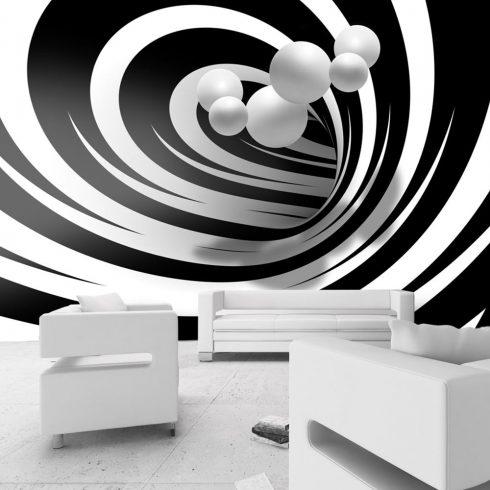 Fotótapéta - Twisted In Black & White  -  ajandekpont.hu
