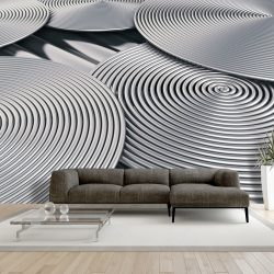 Fotótapéta -  Silver Spirals