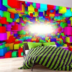 Fotótapéta - Light In Color Geometry