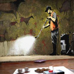 Fotótapéta - Banksy - Cave Painting