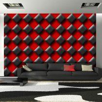Fotótapéta - Red & Black Chessboard