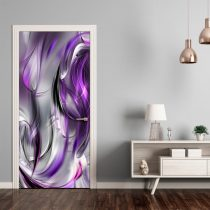 Ajtóposzter - Photo wallpaper –  Purple abstraction I