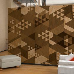 Fotótapéta - Brown patchwork  50 x1000 cm