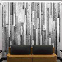 Fotótapéta - Gray wood  50 x1000 cm