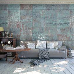 Fotótapéta - Turquoise Concrete  50 x1000 cm